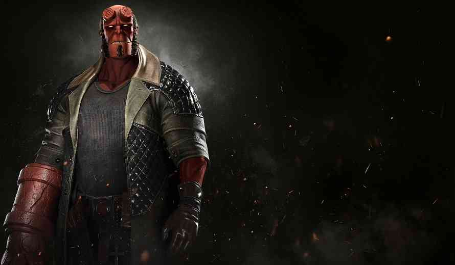 Fall Scarecrow Wallpaper New Hellboy Injustice 2 Gameplay Trailer Cogconnected