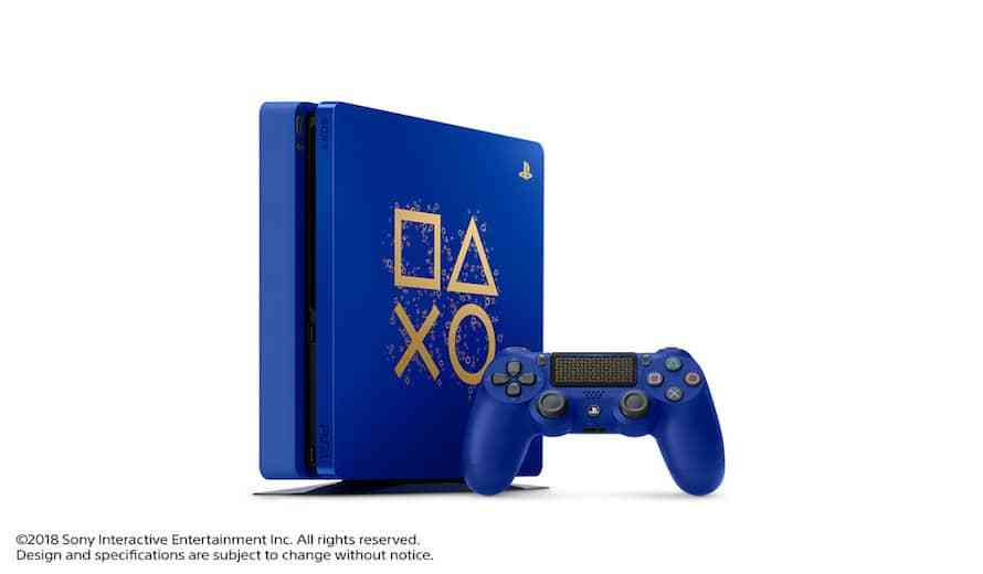 Sony Announces Limited Edition Blue PS4 As Part of 'Days of Play' Promotion   COGconnected