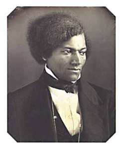Frederick Douglass, 1848 / Albert Cook Myers Collection, Chester County Historical Society