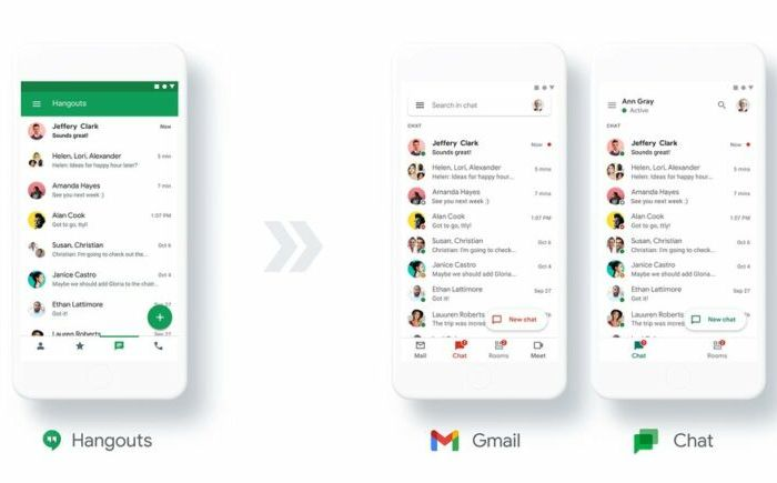 Google Messaging Update