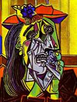 weeping woman picasso