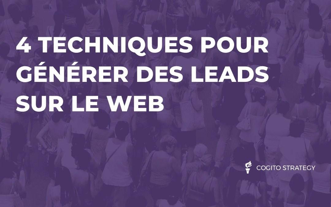 Générer des leads sur le web