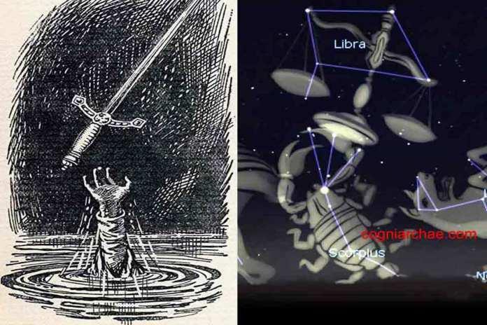 excalibur-libra-astronomy-astrology-mythology