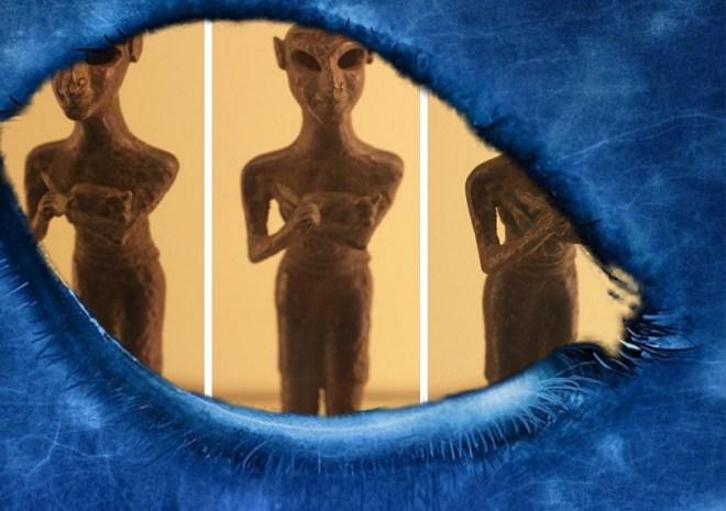 Sumerians, the origin of alien races