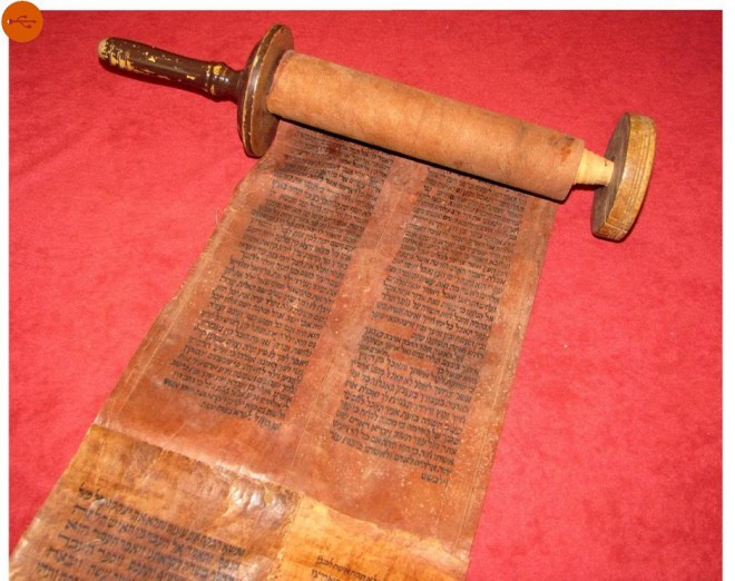 torah scrolls