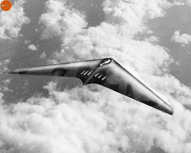 German bomber Horten