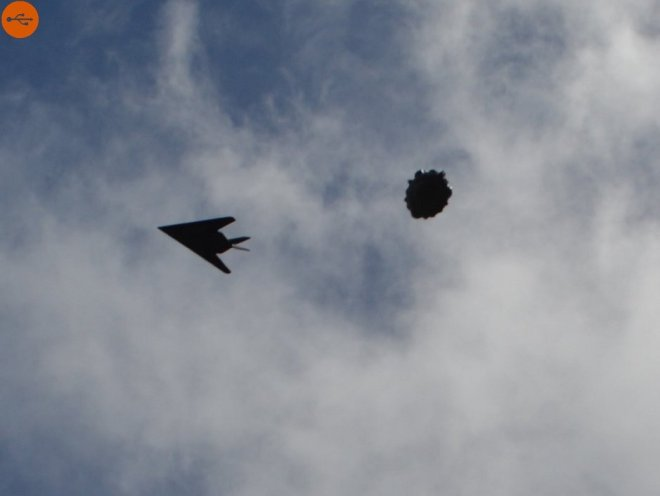 Stealth, UFO and Aircraft. Original article by Alessandro Brizzi.
