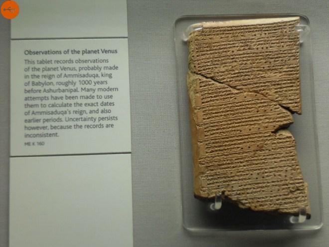 Tablet of Venus of Ammi-Saduqa.