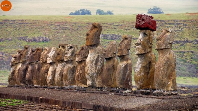 Moai, definition and study. A-Z index of Cognitio.