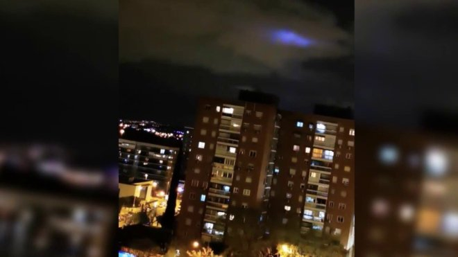 Blue lights, appear in the skies around the world!