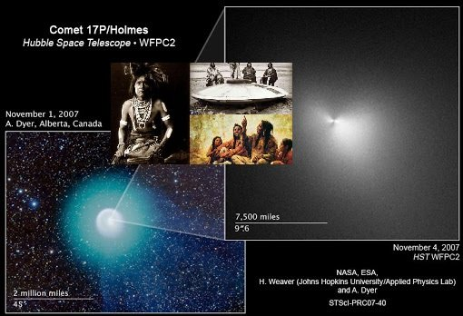 "Blue comet ""K2"" is coming to Earth. Is this the famous Star Kachina?"