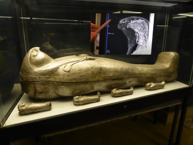 Mummies, shocking discovery, are not human!