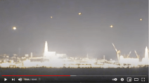 Japan, a UFO fleet flies over the Fukushima nuclear power plant after the earthquake