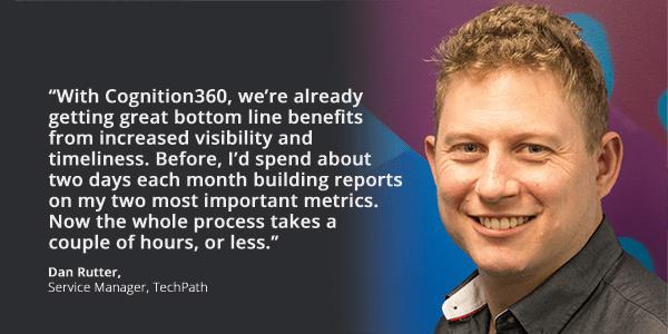 Dan Rutter, Service Manager, TechPath