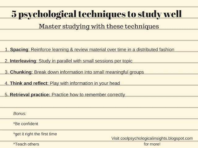 Best study techniques: A guide on how to study