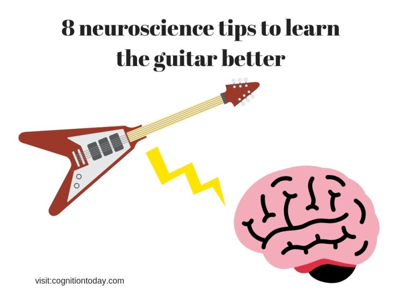The best guitar tips using neuroscience and psychology. Learn how to play the guitar better.