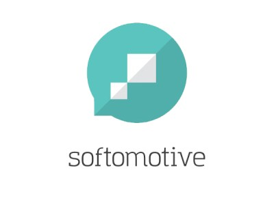 Softomotive logo (Credit: PRNewsfoto/Softomotive)