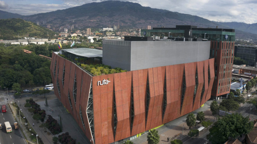 Ruta N technology and innovation complex in Medellín, Colombia. (Photo credit: Ruta N)