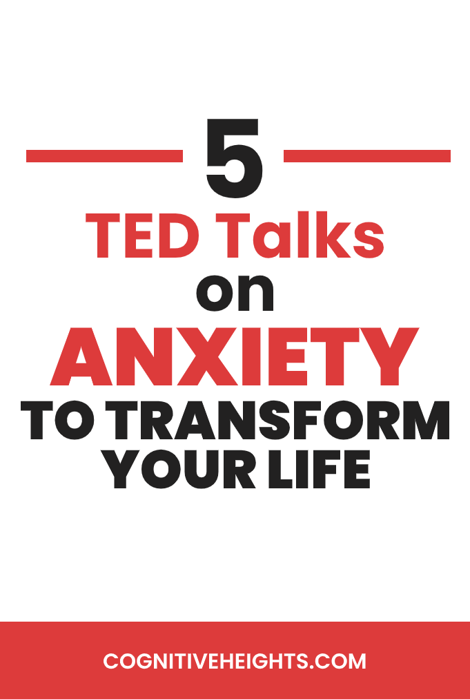5 TED talks on anxiety to transform your life