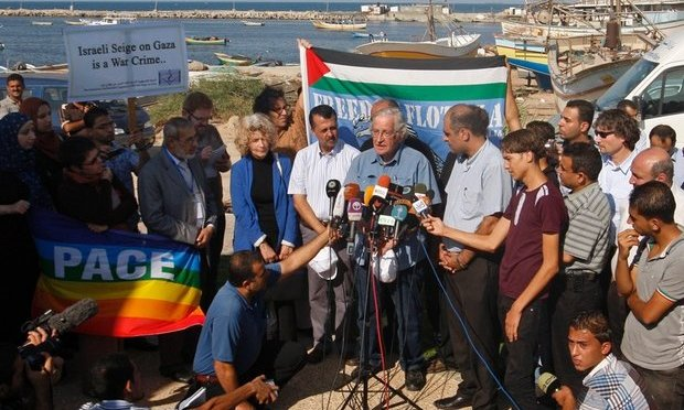 War And Peace Report: Noam Chomsky's Experience In Gaza