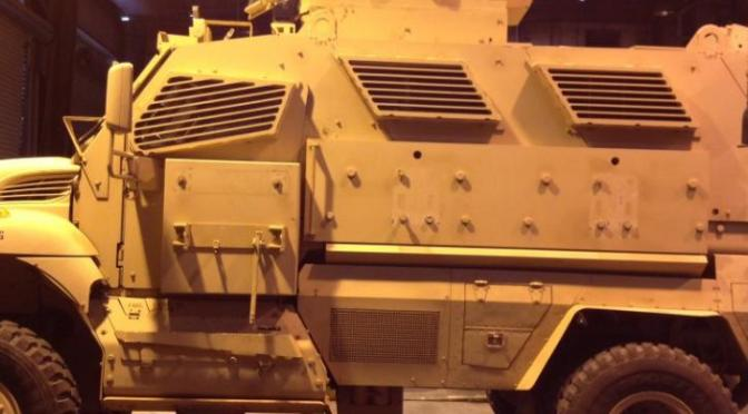Return To Sender: Davis City Council Gives Police 60 Days To Dispose Of Military Armored Vehicle