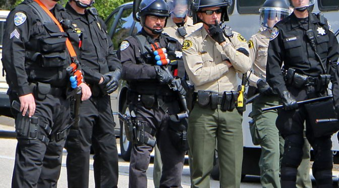 Witnesses Report Excessive Use Of Force By SCPD During Arrest Near Court House
