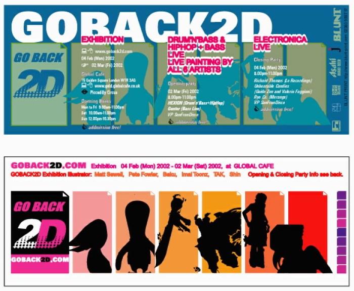 GoBack2D flyer