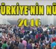 Türkiye'nin 2016 Nüfusu