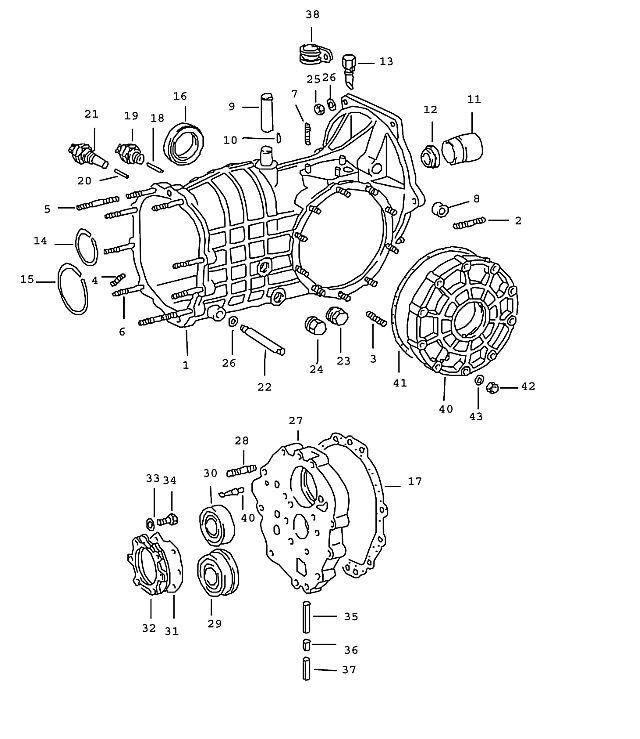 Porsche 911 Transmission Bridging Switch