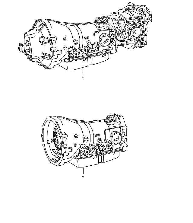 Porsche 928 Automatic Replacement Transmission 1983-86