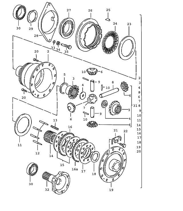 Porsche 928 5 Speed Transmission Limited slip 90- 1987-91