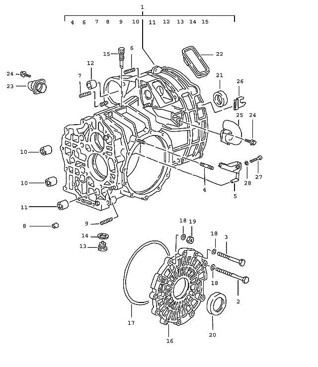 Porsche 911 (993) Transmission 1995-98