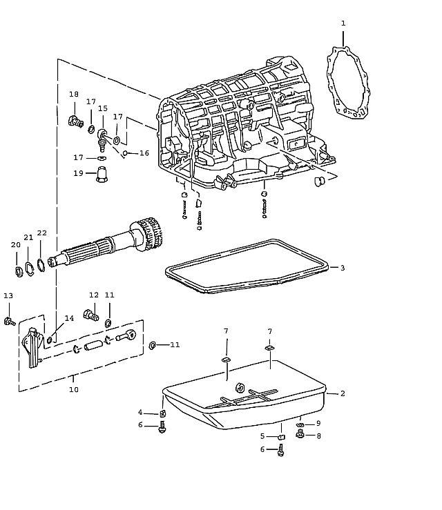 Porsche 911 Transmission Screw plug M 14X1.5