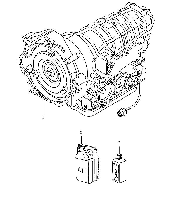 Porsche 911 (996) Tiptronic Replacement Transmission 1999-01