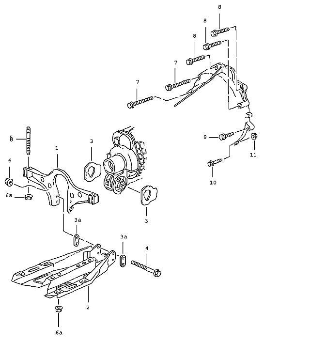Porsche 911 Transmission Transmission Carrier