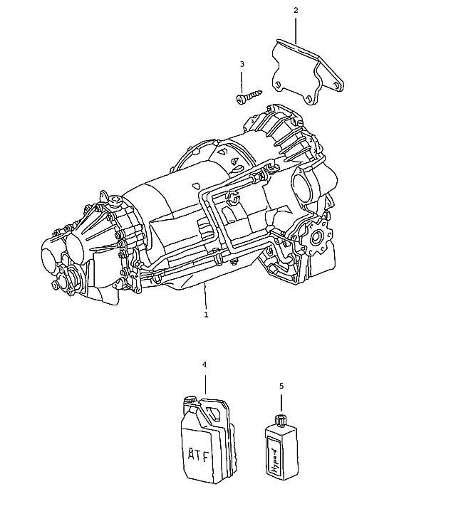 Porsche 911 Transmission Replacement transmission (320-00)