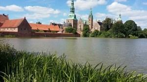 The 17th-century Frederiksborg Castle in Hillerød Denmark north of Copenhagen