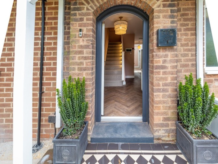 Harken House Entrance
