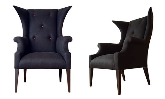 tom dixon wing back chair wooden kitchen chairs the wingback | cohabitation with design