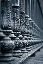 Intricately designed posts