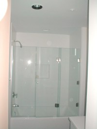 Door Enclosure & Good Looking Tub Enclosures In Bathroom ...