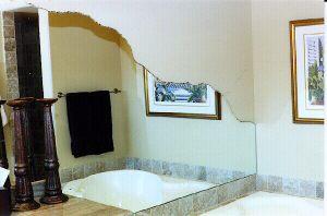 Chissled Edge Tub Mirror