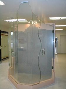 Custom-S-Curve-Shower-Door