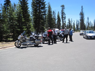 First ride - Lassen Volcanic National Park