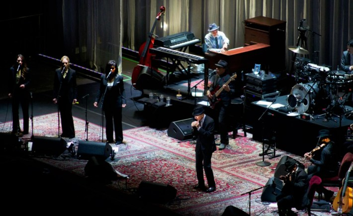 Leonard Cohen Concert: - Madrid : Oct 5, 2012. Photo by Sergio Perea at Sergio Perea Photography