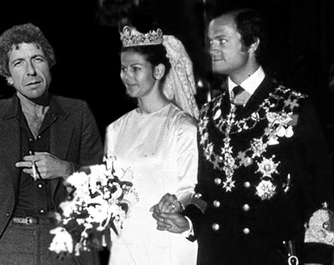 Leonard Cohen Performs In Celebration Of Queen Silvias Wedding
