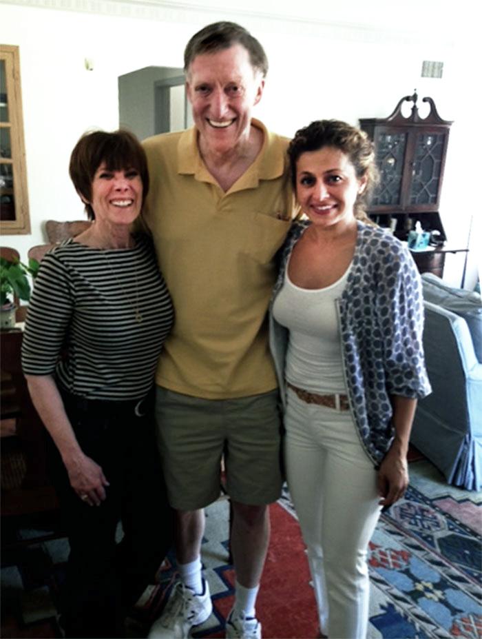 Left to right: Duchess, DrHGuy, Kezban. Photo by Leonard Cohen