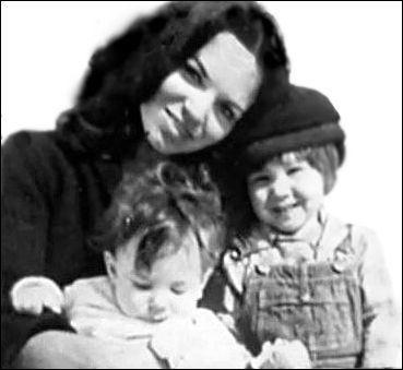 Suzanne Elrod with Lorca & Adam Cohen