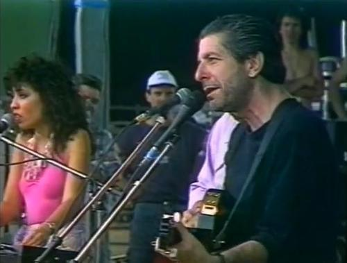 Anjani Thomas & Leonard Cohen in Guehenno - July 13, 1976