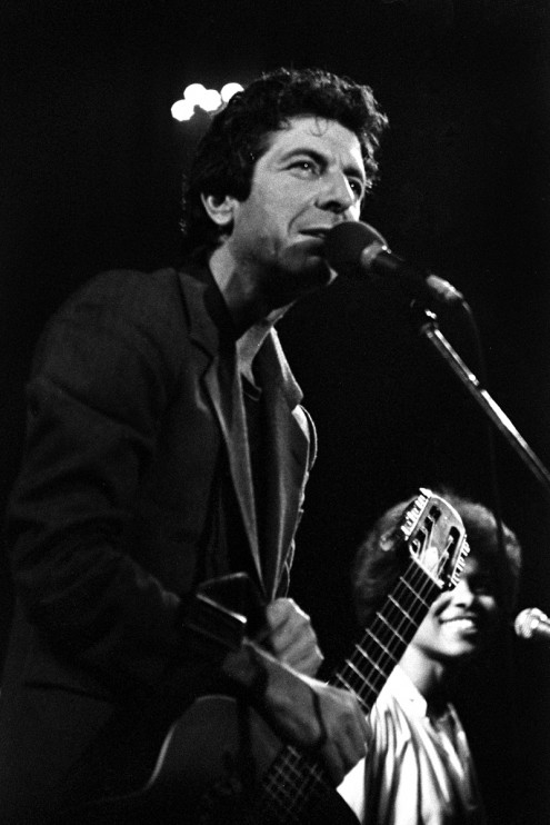 Leonard Cohen & Sharon Robinson in Amsterdam: Oct 30, 1980